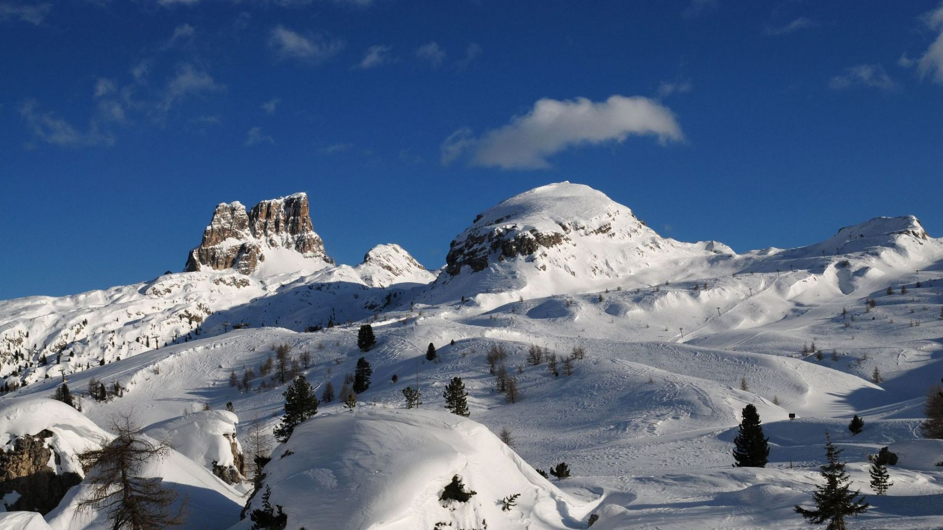 Bild: Lage in San Cassiano